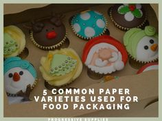 Paper is one of the most common food packaging materials. Nowadays, a variety of paper is being used as packaging material in the retail industry. Food Packaging Materials, Paper, Desserts, Tailgate Desserts, Deserts, Dessert, Food Deserts