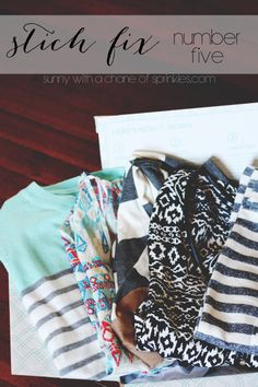 Sunny with a Chance of Sprinkles: Stitch Fix #5 - Stripes + Aztec