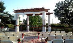 #ceremony #drape #pavilion #boydsevents #weddings Wedding Events, Weddings, Draping, Pavilion, Pergola, Outdoor Structures, Mariage, Gazebo, Outdoor Pergola