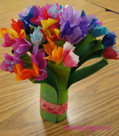 it's art day: Mother's Day Bouquets