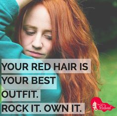 Rock your fabulous red hair via HowtobeaRedhead.com