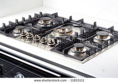 This gas stove top is ideal for the contemporary kitchen as it is both practical and stylish. It has five hot plates which is perfect for cooking multiple things at any given time. Contemporary Kitchen Design, Contemporary Style, Gas Stove Top, Beautiful Kitchens, House Ideas, Kitchen Appliances, Plates, Stylish, Cooking