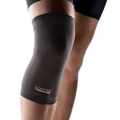 3948efeb1f Details about Large Knee Sleeve Copper Fit Recovery Compression Support  Brace Tommie Fit-M