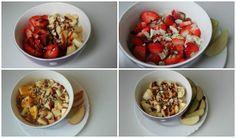 jak vařit  Ovesná kaše Acai Bowl, Breakfast, Fitness, Food, Acai Berry Bowl, Morning Coffee, Essen, Meals, Yemek