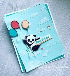 Stampin' Up! Party Pandas Birthday Card and Sneak Peek