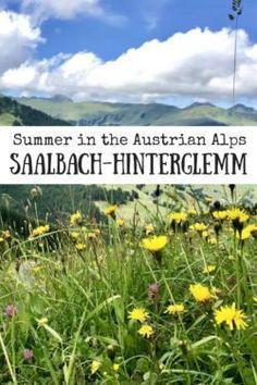 Josie Wanders | Summer in Saalbach-Hinterglemm, Austria | http://josiewanders.com