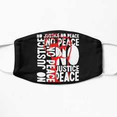 'NO JUSTICE , NO PEACE - can't Breath .- RIP GEORGE FLOYD - SOON JUSTICE' Mask by vadeldesigns | 1000 Inner Peace Quotes, Spandex Fabric, Snug Fit, Breathe, Printed, Awesome, Modern, Art, Products