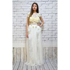 Designer Clothes, Shoes & Bags for Women Prom Dresses, Formal Dresses, Wedding Dresses, Boho Wedding Dress Bohemian, Lace Skirt, Skirts, Polyvore, Shopping, Collection