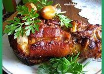 Pečené vepřové koleno Czech Recipes, Ethnic Recipes, Snack Recipes, Snacks, Pork Roast, Salmon Burgers, Baked Potato, Crockpot, Food And Drink