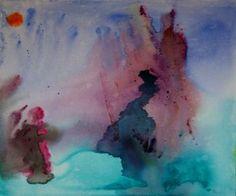"ORIGINAL INSPIRATIONAL ART ON A 19 1/2"" x 23 1/2"" CANVAS BOARD BY VOYAGEART - Stillness by Voyageart for $124.00"
