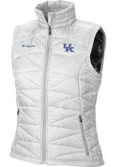 Keep warm & cute! Product: University of Kentucky Women's Mighty Lite Vest