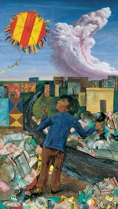 Juanito Laguna y Antonio Berni Social Realism, European Paintings, Art Database, Mixed Media Art, American Art, Gallery, Illustration, Artwork, Instagram