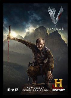 Quadro Poster Series Vikings 7 - Comprar em Decor10