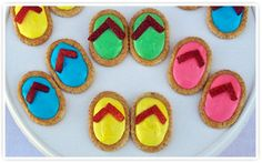 These would be adorable for a pool party!