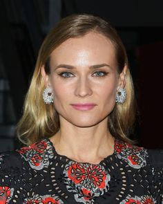 Did Diane Kruger Just Wear A Leather Jacket As A Skirt? #leather