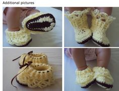 Lovely Crochet and creative Life Boutique: Free Crochet Pattern - Mary Jane CHOCO VANILLA with lovely lace
