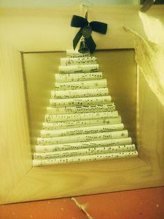 Note christmas tree