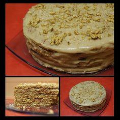 Pradobroty: Plackový dort, alias medovník 20 Min, Sweet And Salty, Vanilla Cake, Tiramisu, Pie, Baking, Ethnic Recipes, Gardening, Detail