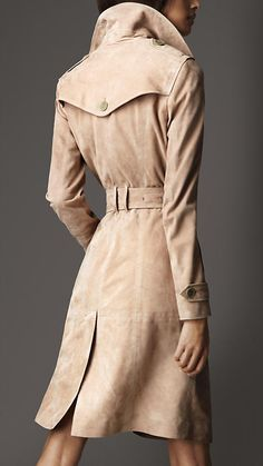 Lambskin Leather Trench Coat | Burberry