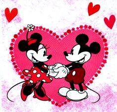Mickey ♡ Minnie (-ˆ◡ˆ)(ˆ◡ˆ-)