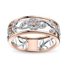Women Flower Leaves 925 Silver Ring 2.06Ct White Topaz Wedding Band Ring Sz6-10