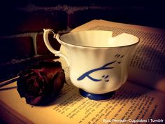 Chipped Cup Rumbelle Once Upon A Time ABC by Lilifey on Etsy