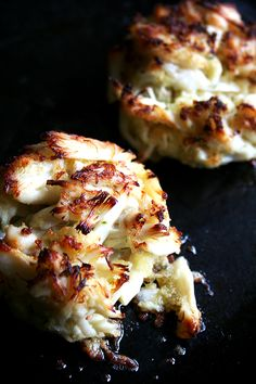 Broiled, lightly seasoned, meaty, the Dockside crabcake embodies everything I hope for in a crabcake, and recreating Dockside's take was surprisingly easy. Because the cakes are broiled — as opposed to pan fried, which involves flipping — the cakes can (and should) be delicately and loosely formed. In fact, if your cakes are almost falling apart as you're placing them on your broiling pan, it's probably a good sign.