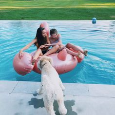 pool with my best friend! my pic! instagram: hannah_meloche pinterest: hannahmeloche