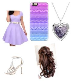"""""""Purple"""" by pam-casner ❤ liked on Polyvore featuring Unique Vintage and Casetify"""