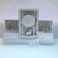 Craftwork Cards The Blog: Frozen Forest – Inspiration and Ideas