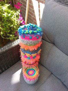 11 Beste Afbeeldingen Van Sloffen Crochet Pattern Crochet