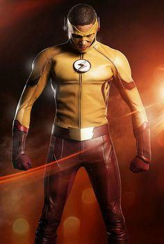 Has The Flash's timeline tampering resulted in a new Central City speedster? Wally West will be suiting up as Kid Flash in the CW hit's Season 3 premiere, and TVLine has your first look… Wally West, Kid Flash, Grant Gustin, The Cw, Flash Tv Series, Cw Series, Dc Comics, Flash Comics, Live Action