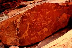 gravuras rupestres de Twyfelfontein                                                                                                                                                                                 Mais