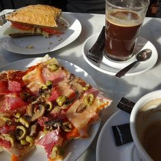 """""""An afternoon snack in Barcelona. #foodporn #spain"""""""