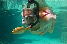 Erica, I LOVE THIS!! Lets go - Snorkeling @ Bora Bora in The Ruahatu Lagoon Sanctuary