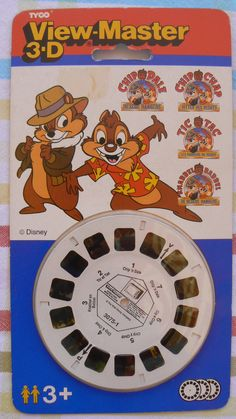 Hello Pinterest-users,  You can buy View-Master 3-D from the Chip 'N Dale rescue rangers, unopened, made by Yyco toys on mine EBAY-store