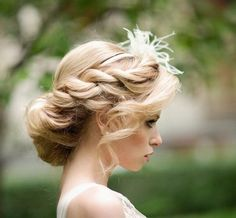 Bellissima #acconciatura per la #sposa by Annartstyle make up and hair #Roma