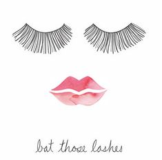 When in doubt, bat those lashes. #quotes #truth #words