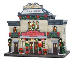 st nicholas square village collection opera house kohls holiday decor