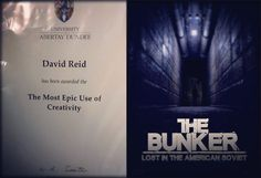 "The Bunker: Lost in the American Soviet my 4th year honours project for university landed me an award from Epic Games for ""The Most Epic Use of Creativity"". I'm absolutely ecstatic and humbled by the feedback and kind words that have been passed on to me during the degree show. It has been an amazing time at @abertayuni and can't thank the lecturers enough for everything over the past 3 years. Now to see what the next chapter of life holds for me. #ue4 #unrealengine #Oculus #virtualreality…"