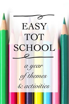 Tot School Overview - Simply Learning
