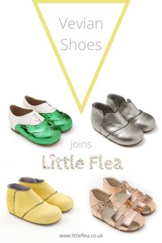 We are delighted to welcome the amazing shoe brand. Vevian to Little Flea. Absolutely stunning handmade shoes for babies and kids made from the softest leather and all handmade in the Uk using materials sourced and supplied from the UK. Beautiful shoes made by skilled craftsmen using traditional techniques.