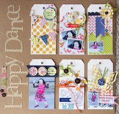 Happy Dance by Cindy Liebel featuring Double Dutch from Lily Bee - Scrapbook.com