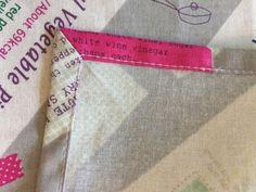 今日は、小学校の給食で使うランチョンマットの仕上がりがグンと良くなる、額縁縫いについて書きたいと思います。 額…