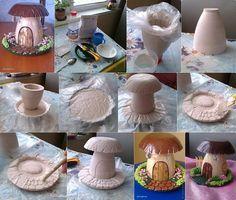 DIY Mushroom House
