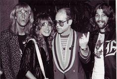 Stevie Nicks with Elton John