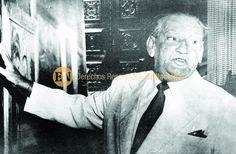 Armando Reverón. Pintor  y artista plástico venezolano . Es considerado el mejor pintor de Venezuela del siglo XX. En la gráfica se encuentra en el Museo de Bellas Artes, unos días antes de su muerte. Caracas, 1954 (ARCHIVO EL NACIONAL)
