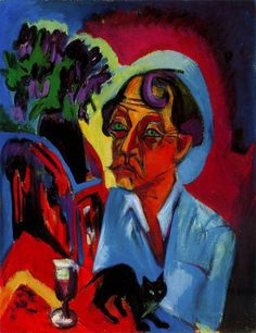 Ernst Ludwig Kirchner (1880~1938) | He was a German expressionist painter and printmaker and one of the founders of the artists group Die Brücke