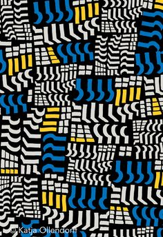 @Katja Ollendorff #pattern #textile #surfacepattern
