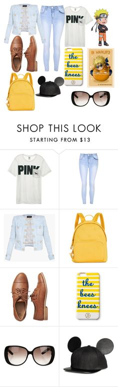 """naruto uzumaki"" by levatzy-pandita ❤ liked on Polyvore featuring Victoria's Secret, Glamorous, Balmain, Tommy Hilfiger, Gap, Draper James and Gucci"